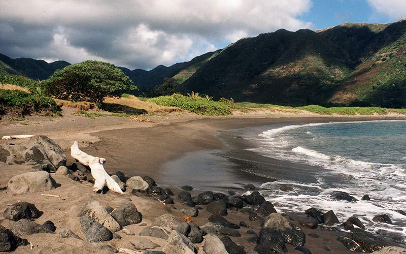 Kawili Beach Molokai Hawaii