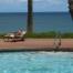 Napping By Kepuhi Beach Pool Molokai Hawaii