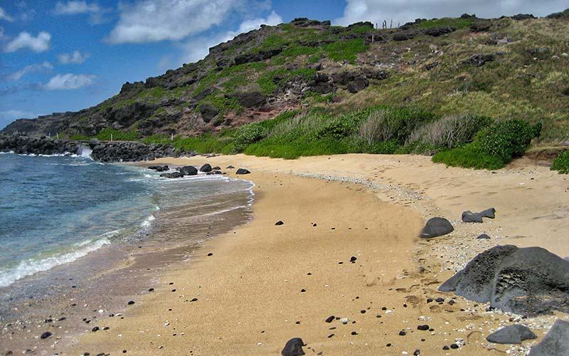 Sandy Beach Molokai Hawaii