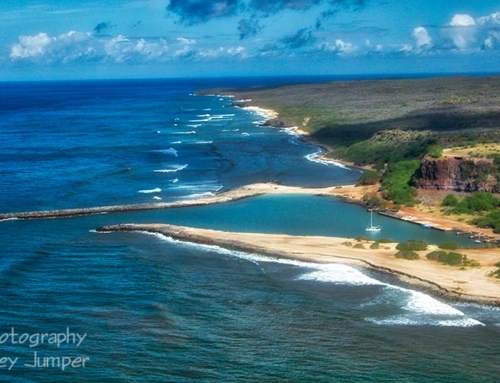 Molokai Photo Tours – 05 – Aerials Southwest Beaches & Hale O Lono